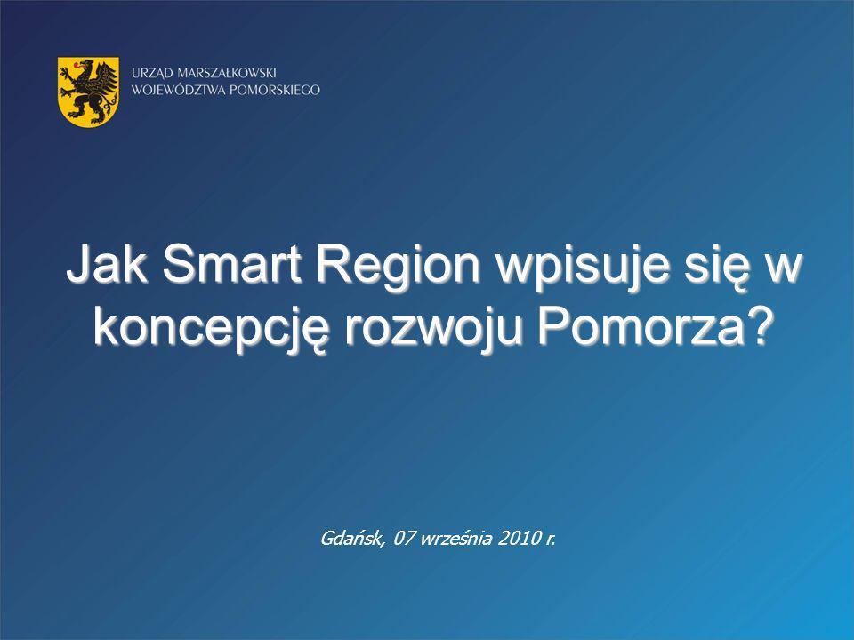 Jak Smart Region wpisuje się w koncepcję rozwoju Pomorza