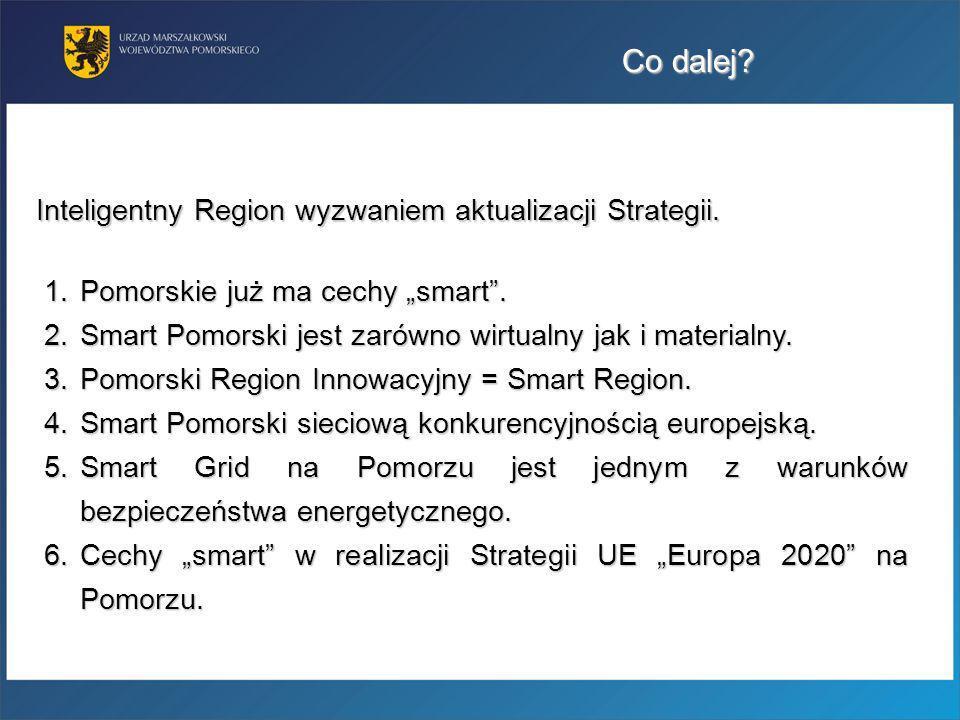 Co dalej Inteligentny Region wyzwaniem aktualizacji Strategii.