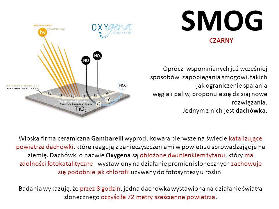 SMOG CZARNY. Oprócz wspomnianych już wcześniej sposobów zapobiegania smogowi, takich jak ograniczenie spalania.