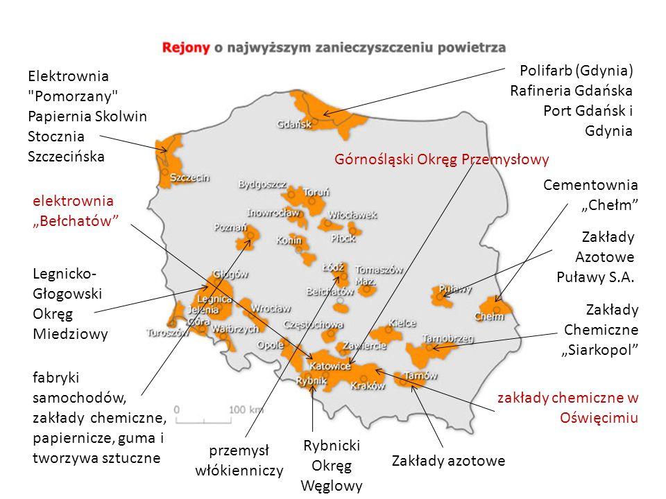 Elektrownia Pomorzany Papiernia Skolwin Stocznia Szczecińska