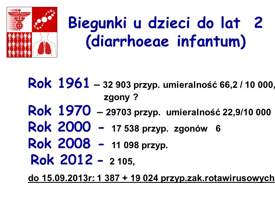 Biegunki u dzieci do lat 2 (diarrhoeae infantum)