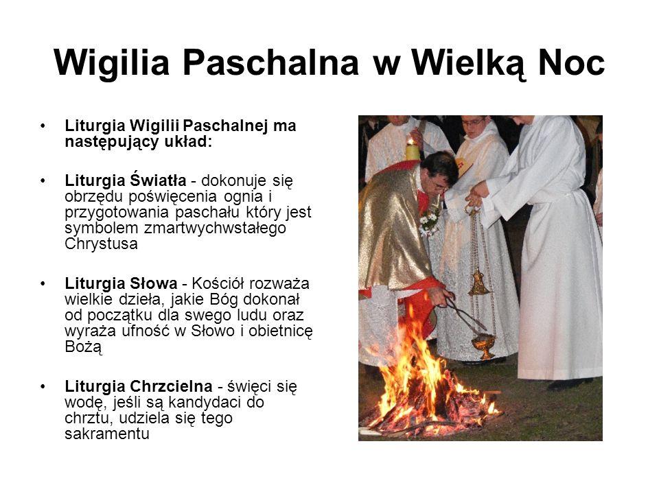 Wigilia Paschalna w Wielką Noc