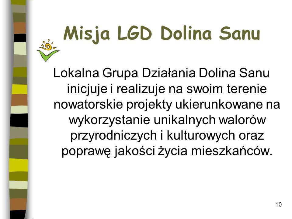 Misja LGD Dolina Sanu