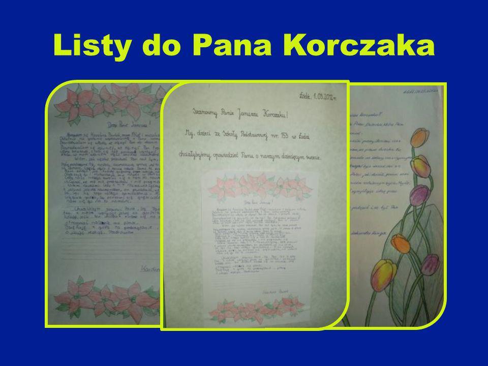 Listy do Pana Korczaka