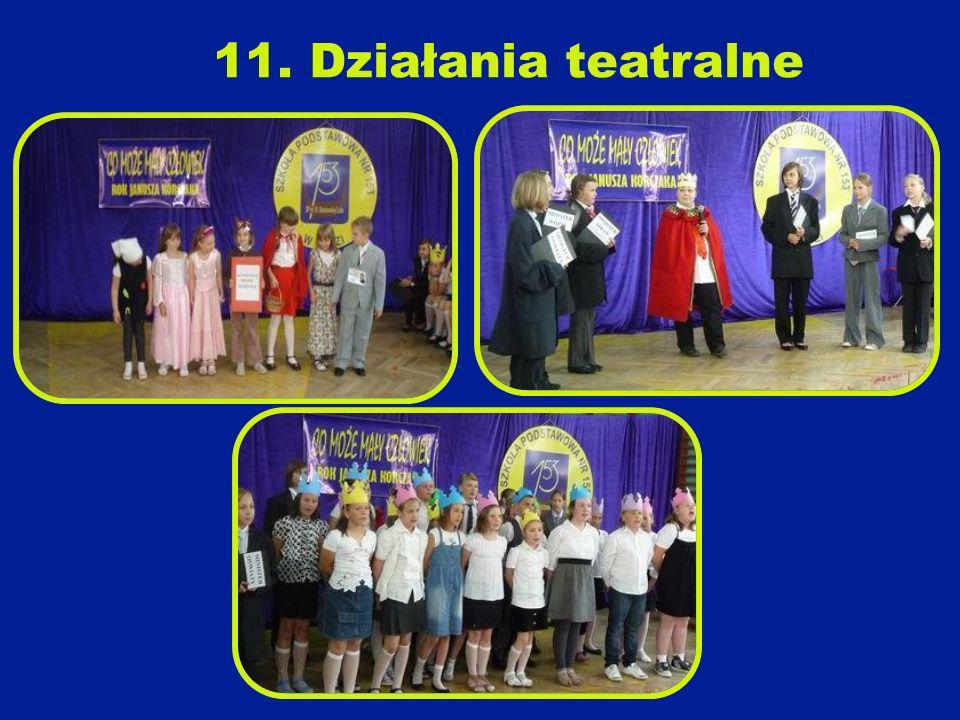 11. Działania teatralne