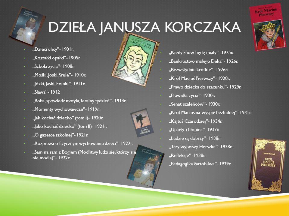 Dzieła Janusza Korczaka