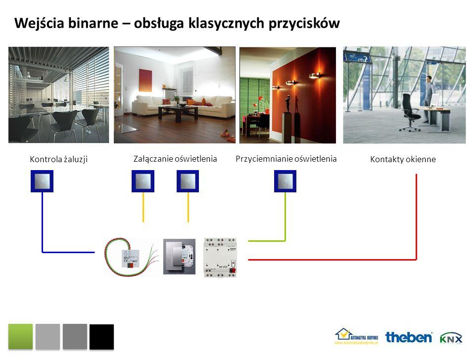 Wejścia binarne – obsługa klasycznych przycisków