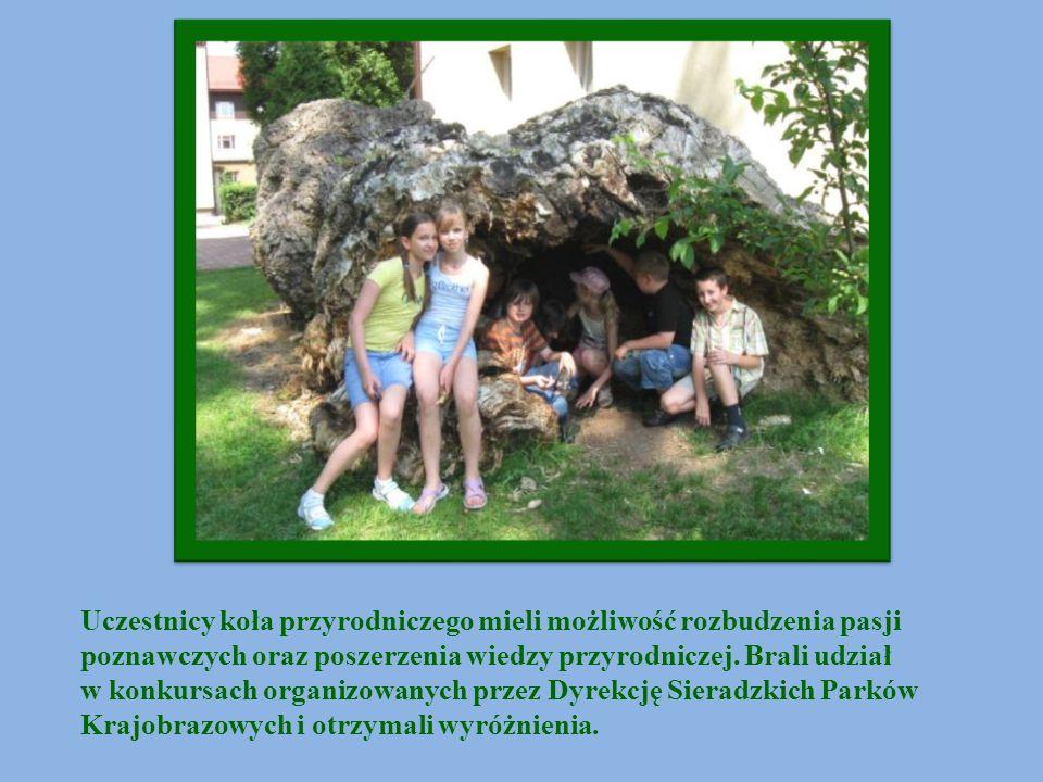 Uczestnicy koła przyrodniczego mieli możliwość rozbudzenia pasji poznawczych oraz poszerzenia wiedzy przyrodniczej. Brali udział