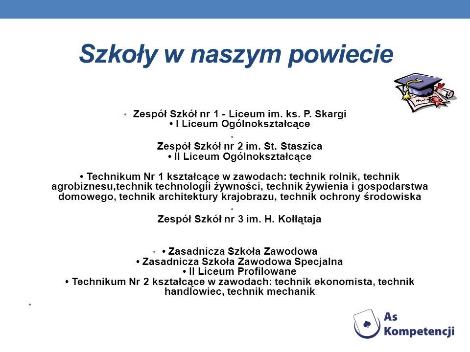 Szkoły w naszym powiecie