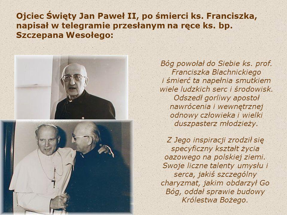 Ojciec Święty Jan Paweł II, po śmierci ks