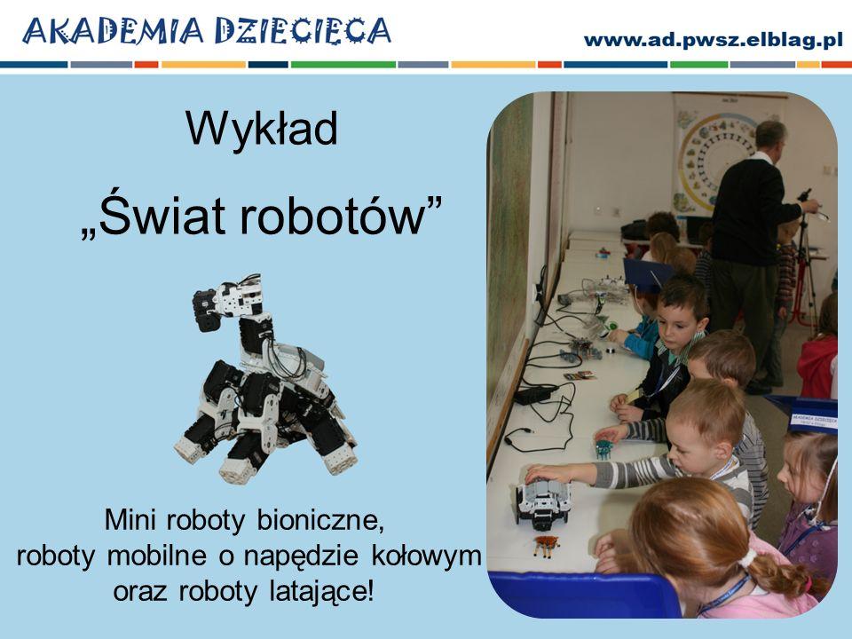 """Wykład """"Świat robotów"""