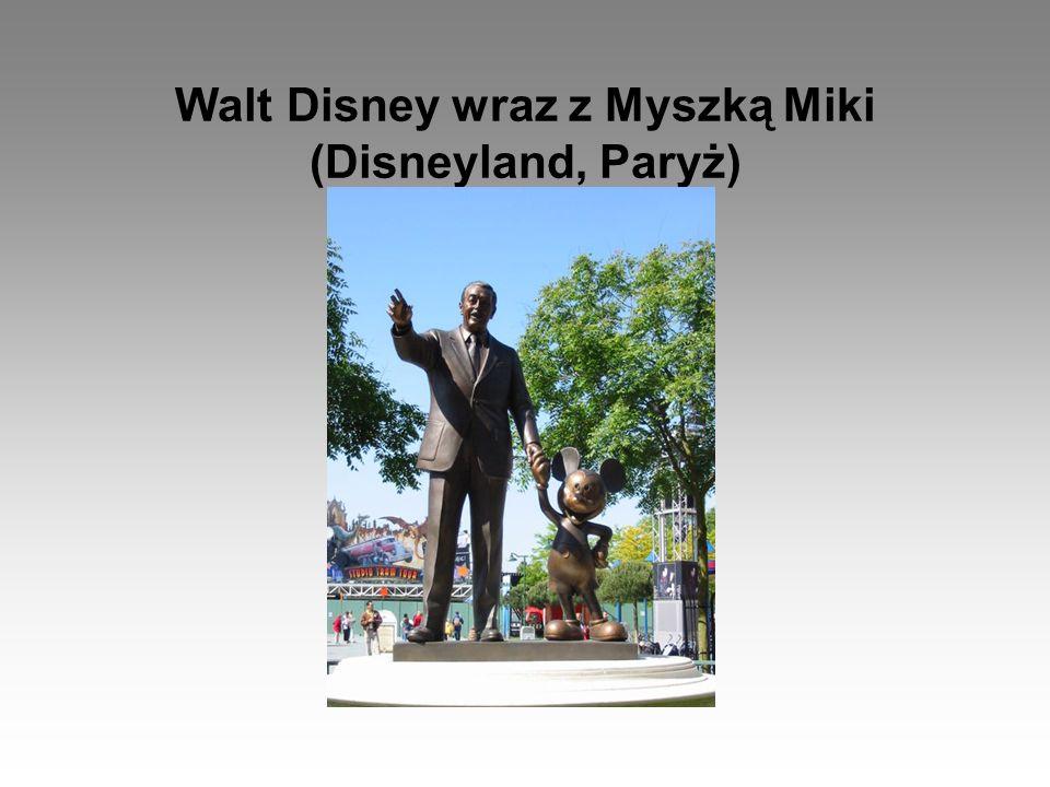 Walt Disney wraz z Myszką Miki (Disneyland, Paryż)
