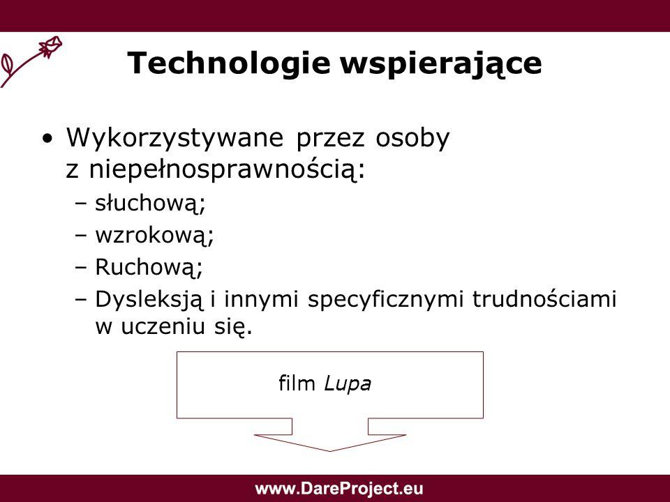 Technologie wspierające