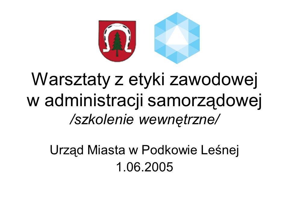 Urząd Miasta w Podkowie Leśnej 1.06.2005