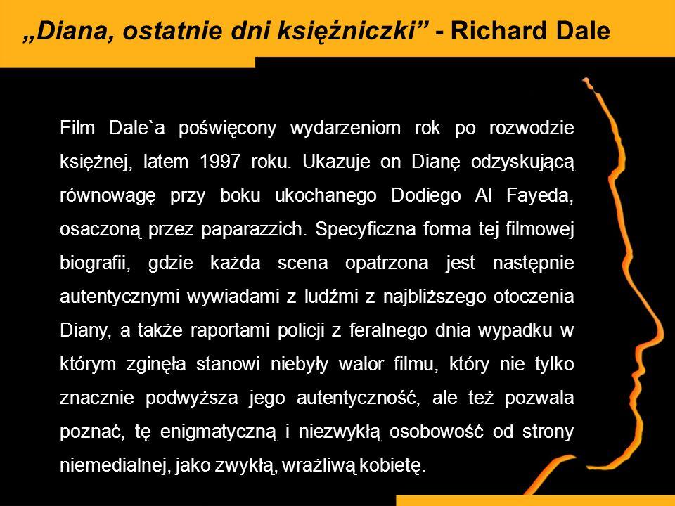 """""""Diana, ostatnie dni księżniczki - Richard Dale"""