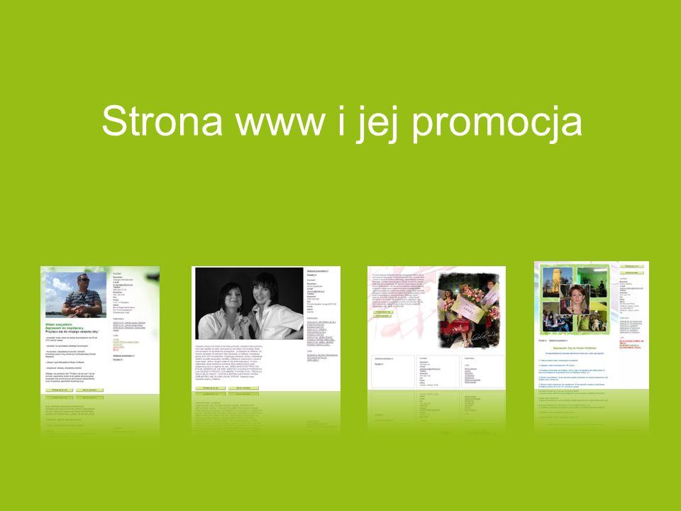 Strona www i jej promocja