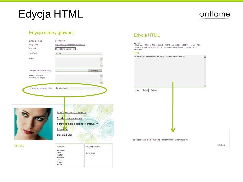 Edycja HTML
