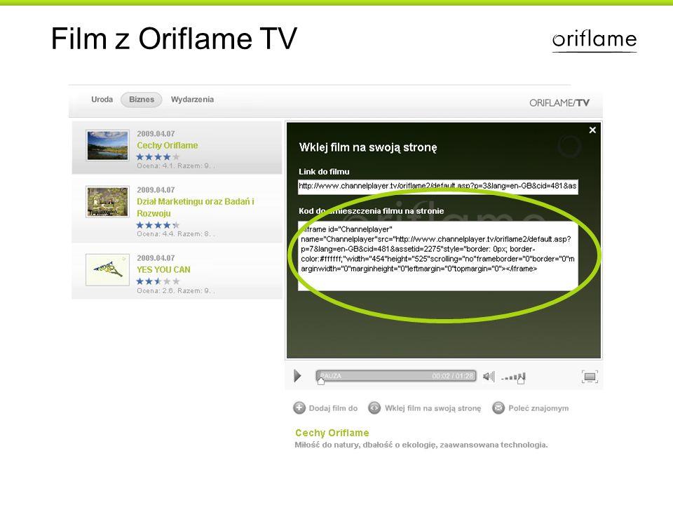Film z Oriflame TV