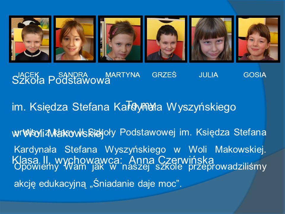 im. Księdza Stefana Kardynała Wyszyńskiego w Woli Makowskiej