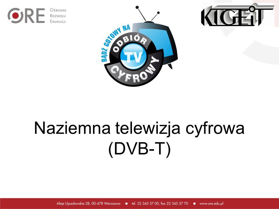 Naziemna telewizja cyfrowa (DVB-T)