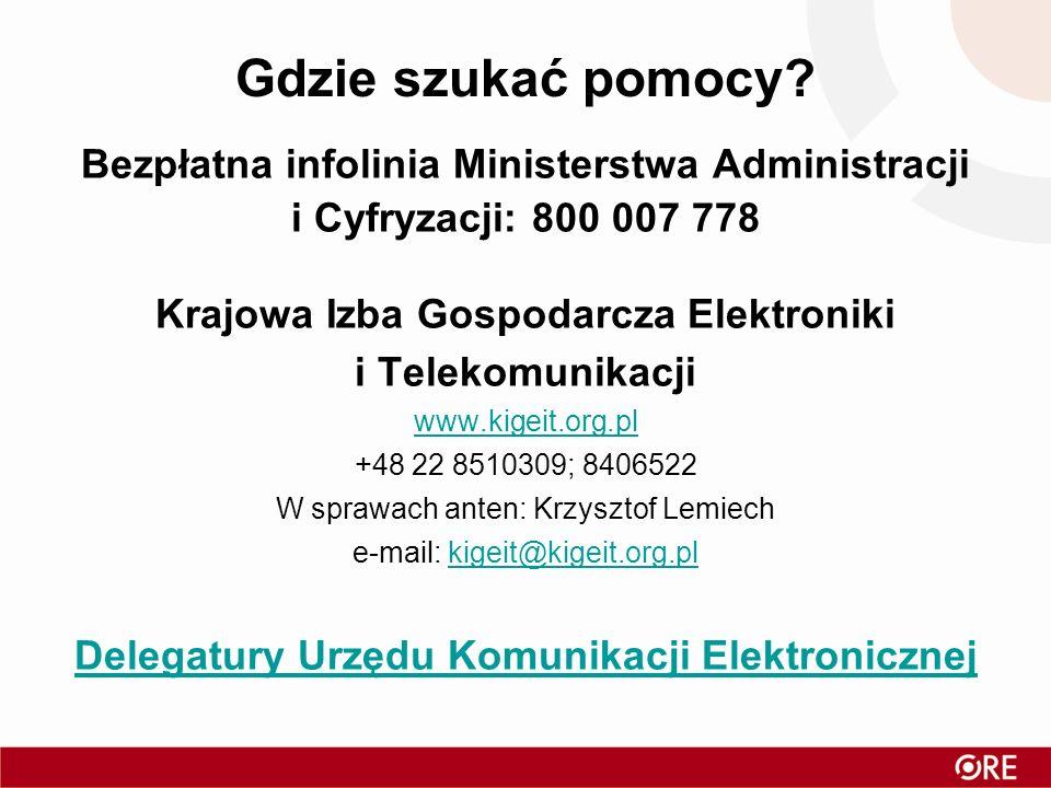 Gdzie szukać pomocy Bezpłatna infolinia Ministerstwa Administracji