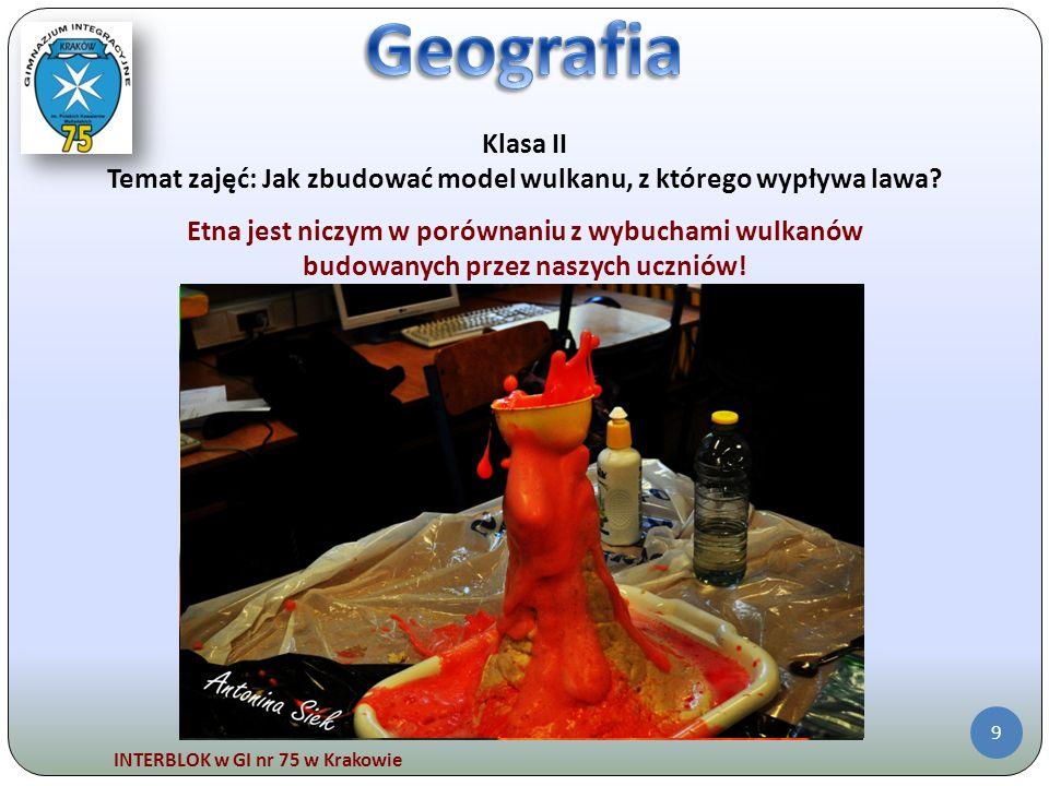 Geografia Klasa II. Temat zajęć: Jak zbudować model wulkanu, z którego wypływa lawa Etna jest niczym w porównaniu z wybuchami wulkanów.