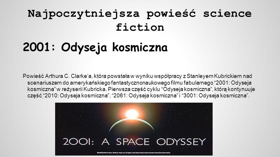 Najpoczytniejsza powieść science fiction
