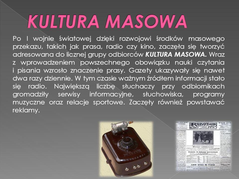 KULTURA MASOWA