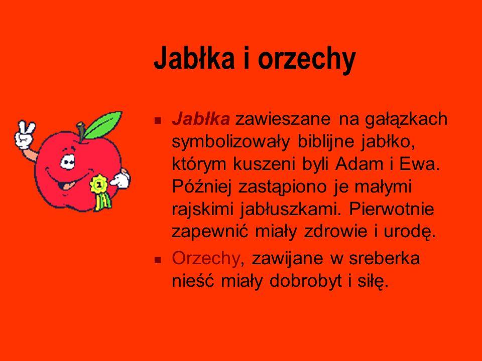 Jabłka i orzechy