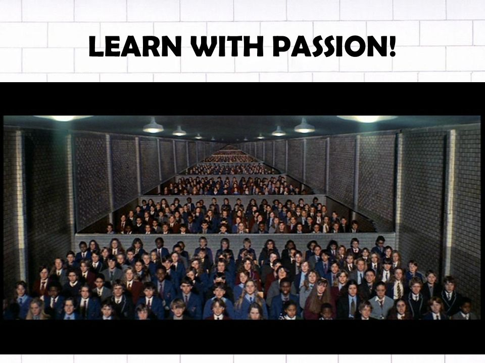 LEARN WITH PASSION!
