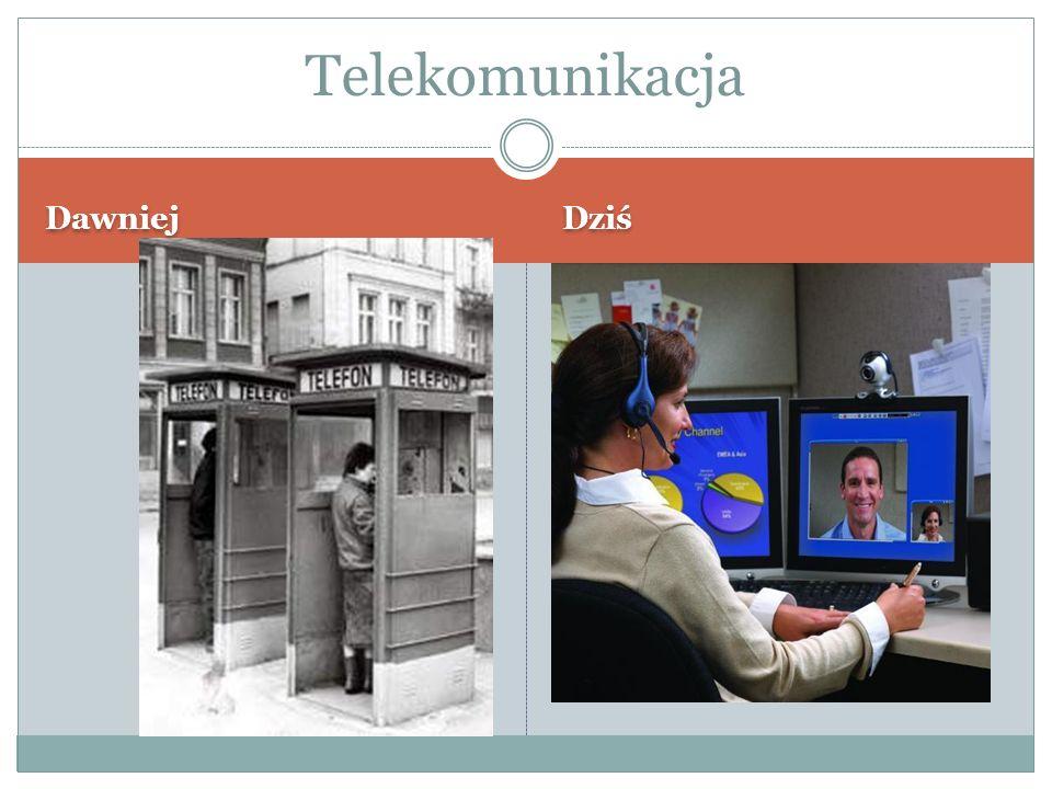 Telekomunikacja Dawniej Dziś