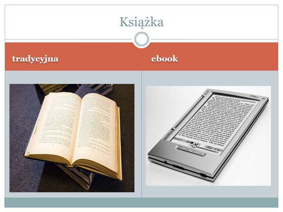 Książka tradycyjna ebook