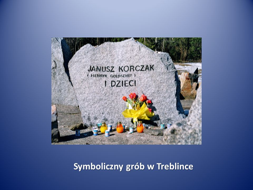 Symboliczny grób w Treblince
