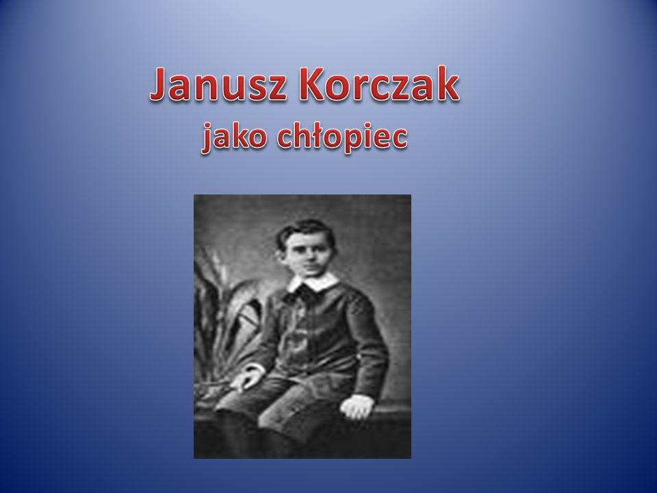 Janusz Korczak jako chłopiec