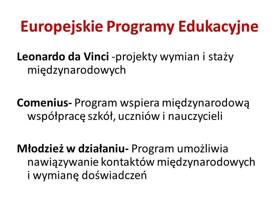 Europejskie Programy Edukacyjne