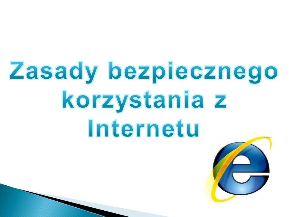 korzystania z Internetu
