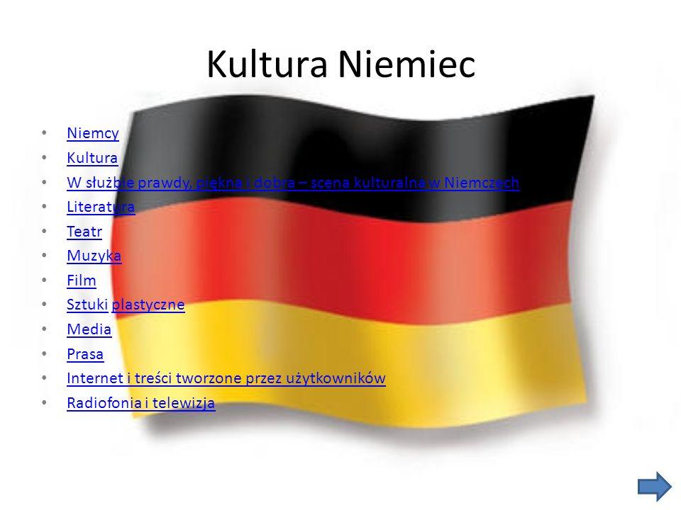 Kultura Niemiec Niemcy Kultura