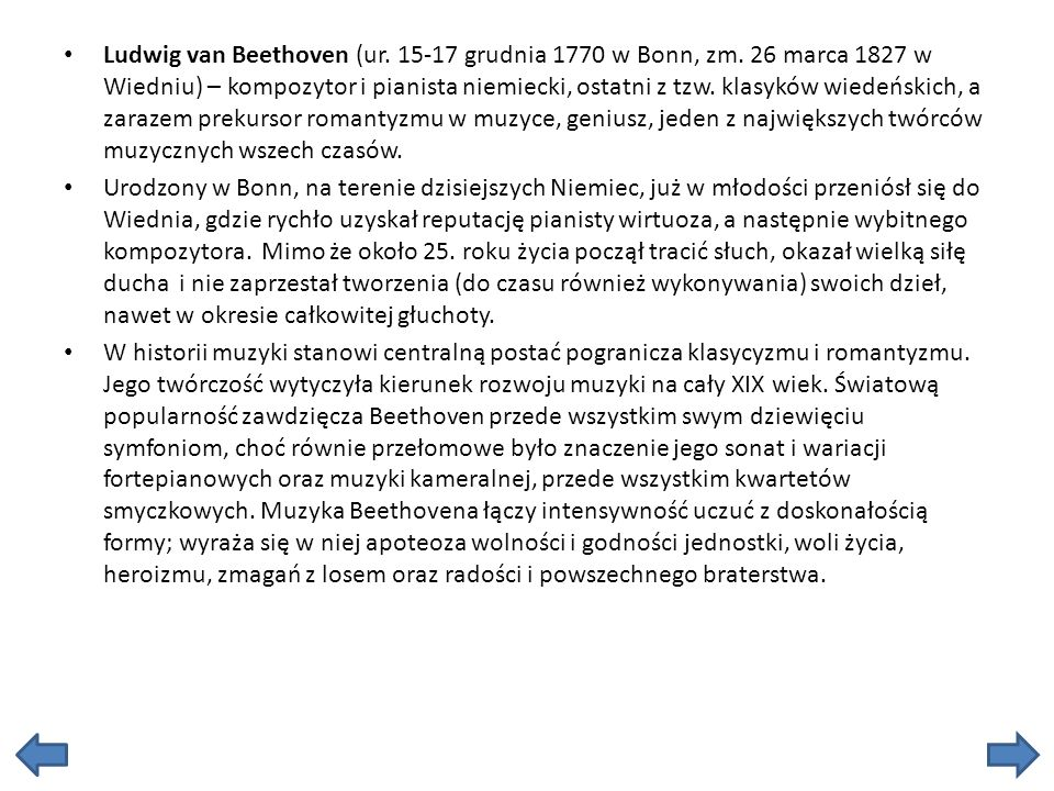 Ludwig van Beethoven (ur. 15-17 grudnia 1770 w Bonn, zm
