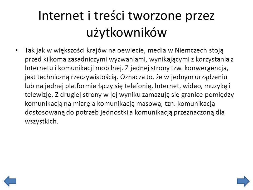 Internet i treści tworzone przez użytkowników