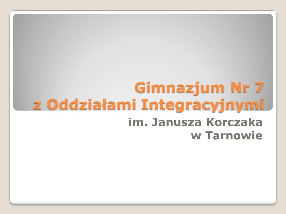 Gimnazjum Nr 7 z Oddziałami Integracyjnymi