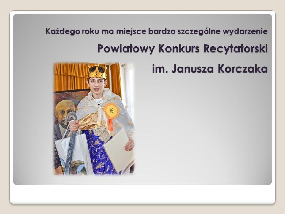Każdego roku ma miejsce bardzo szczególne wydarzenie Powiatowy Konkurs Recytatorski im.