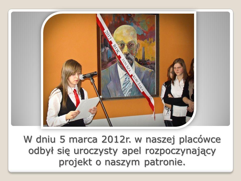 W dniu 5 marca 2012r.