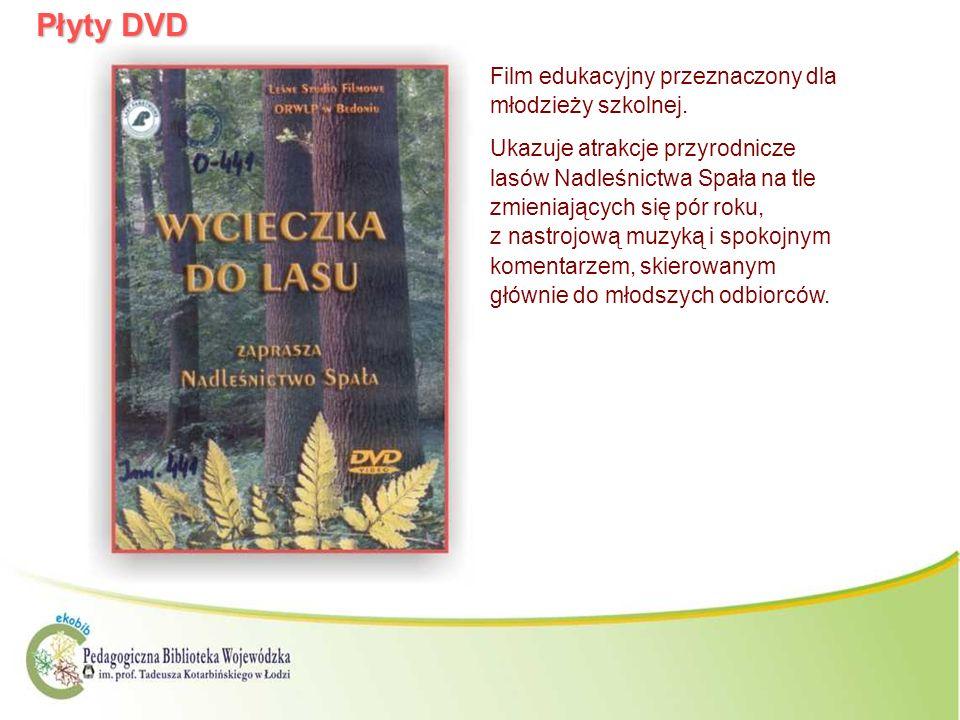 Płyty DVD Film edukacyjny przeznaczony dla młodzieży szkolnej.