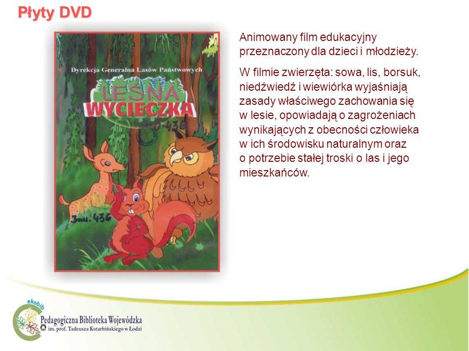 Płyty DVD Animowany film edukacyjny przeznaczony dla dzieci i młodzieży.