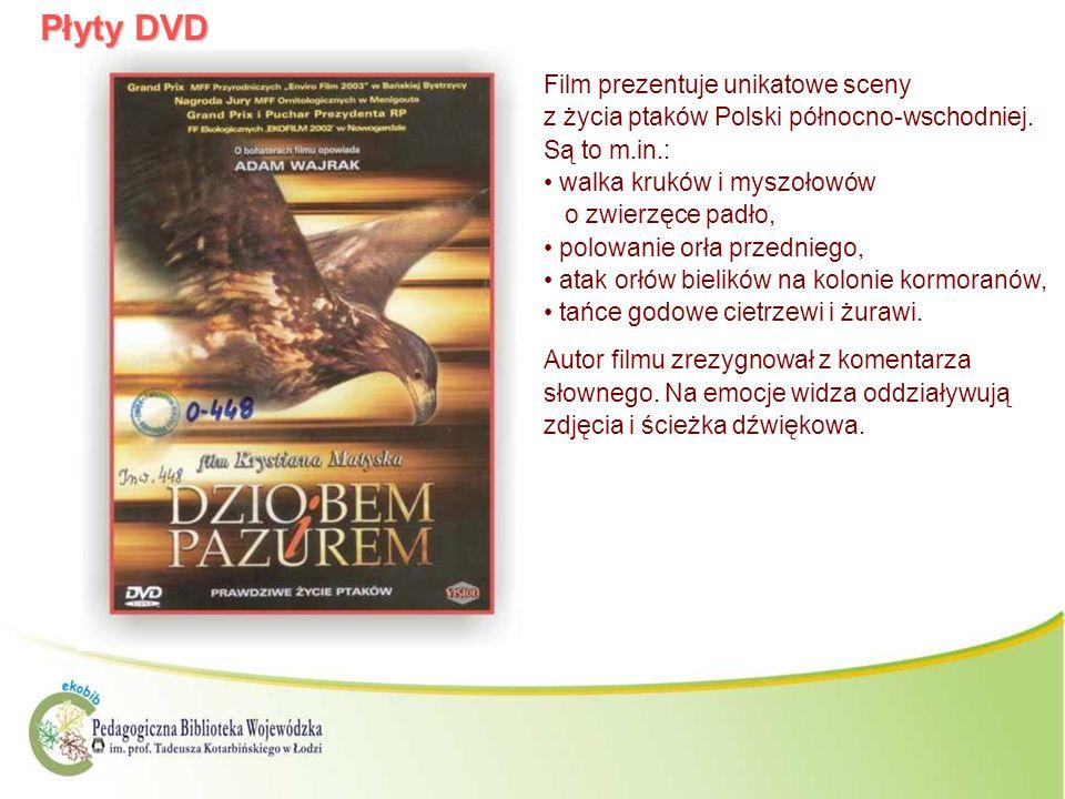 Płyty DVDFilm prezentuje unikatowe sceny z życia ptaków Polski północno-wschodniej. Są to m.in.: walka kruków i myszołowów o zwierzęce padło,