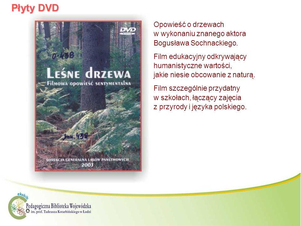 Płyty DVDOpowieść o drzewach w wykonaniu znanego aktora Bogusława Sochnackiego.