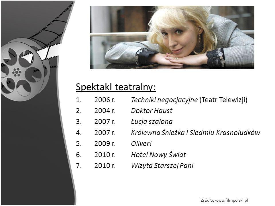 Spektakl teatralny: 2006 r. Techniki negocjacyjne (Teatr Telewizji)