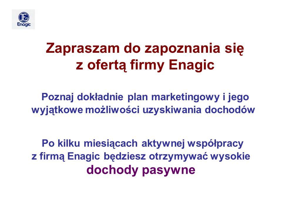 z ofertą firmy Enagic Zapraszam do zapoznania się