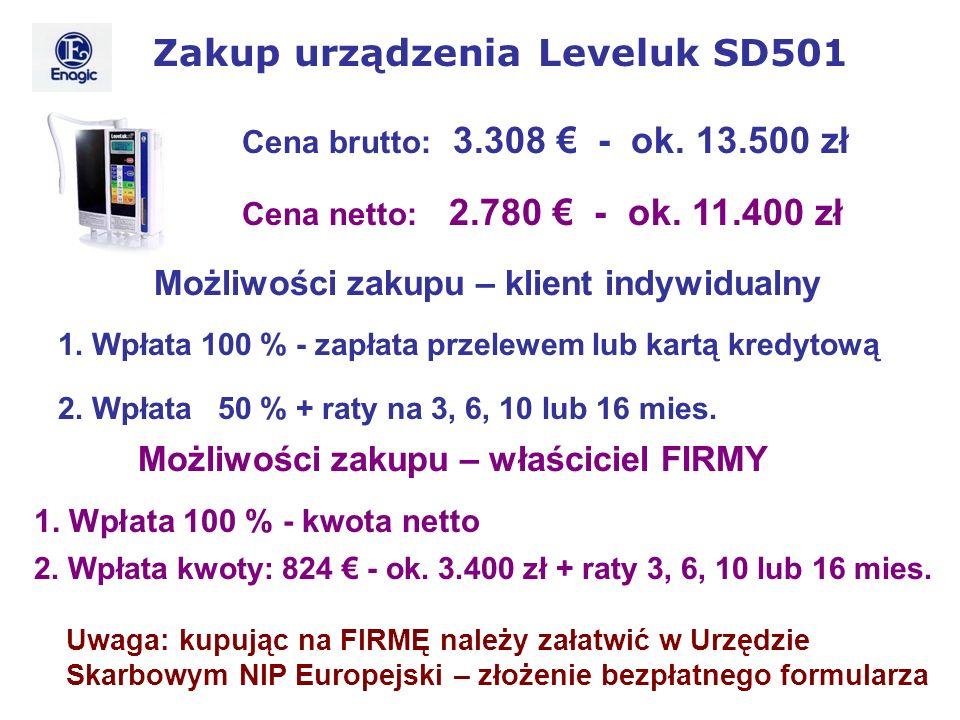 Zakup urządzenia Leveluk SD501