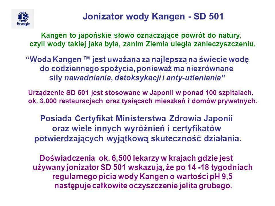 Jonizator wody Kangen - SD 501